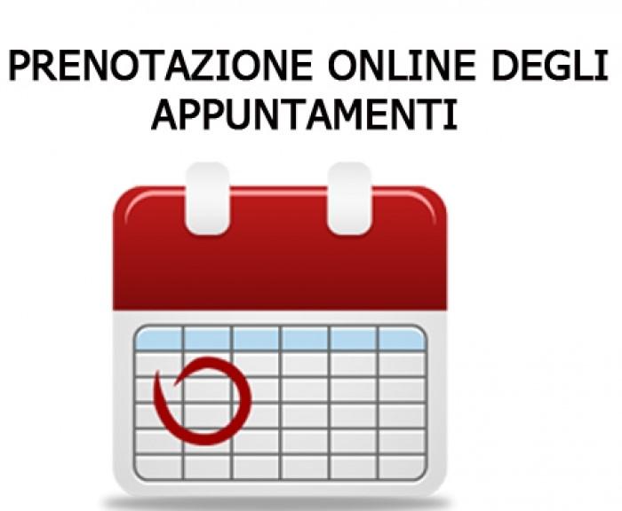 Accesso all'ufficio tributi con appuntamento online