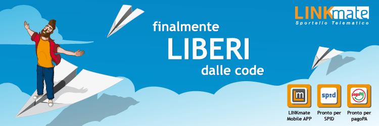 Arriva Linkmate, lo sportello telematico a favore del cittadino e dell'Ente locale