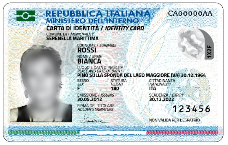 Dal 29 maggio 2018 il Comune di Sant'Agnello rilascer� solo la carta di identit� elettronica